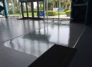 Epoxy Top Coated with Microguard AD708
