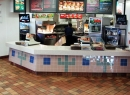 Microguard anti-skid floor treatment for fast food restaorants