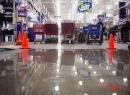 Warehouse concrete floor selaed
